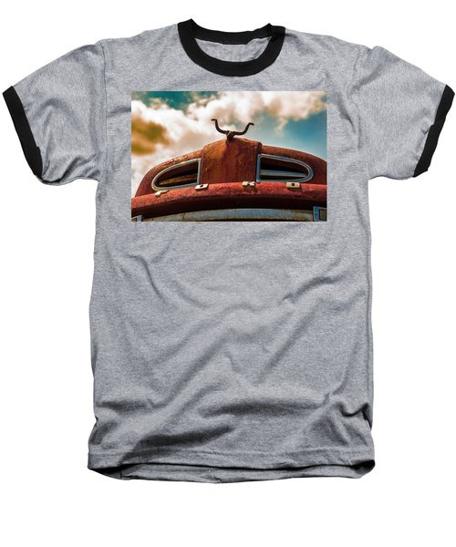 Ford Hood Ornament Baseball T-Shirt