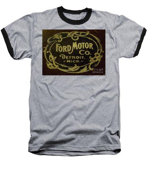 Ford Motor Company Baseball T-Shirt