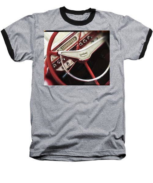 Baseball T-Shirt featuring the photograph Ford Sunliner by Bradley R Youngberg