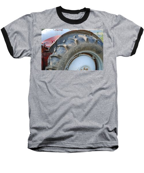 Baseball T-Shirt featuring the photograph Ford Tractor by Jennifer Ancker