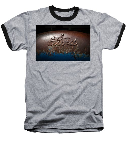 Ford Tractor Logo Baseball T-Shirt
