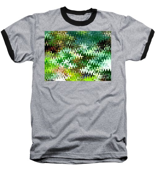 Forest Baseball T-Shirt by Anita Lewis