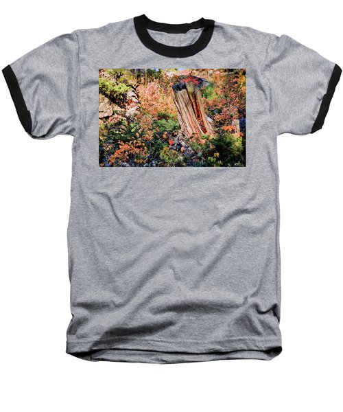 Forest Floral Baseball T-Shirt