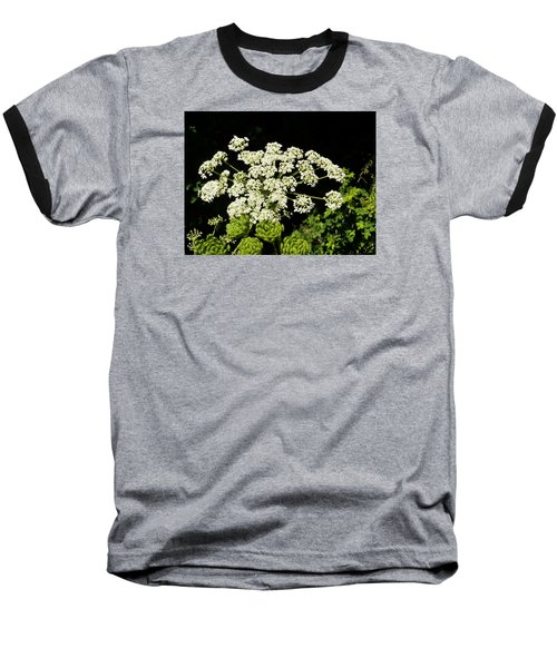 Baseball T-Shirt featuring the photograph Forest Lace by VLee Watson