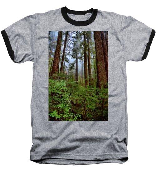 Forest Mist Baseball T-Shirt