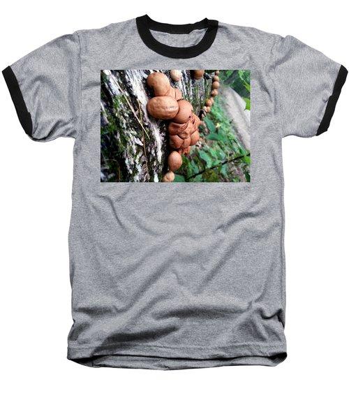 Forest Shrooms Baseball T-Shirt