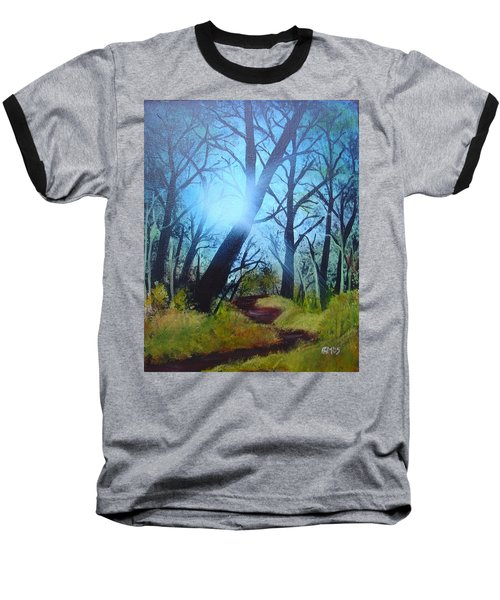 Forest Sunlight Baseball T-Shirt