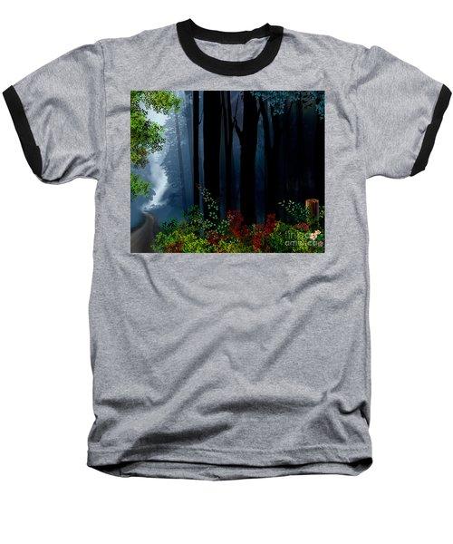 Forest Trail Baseball T-Shirt