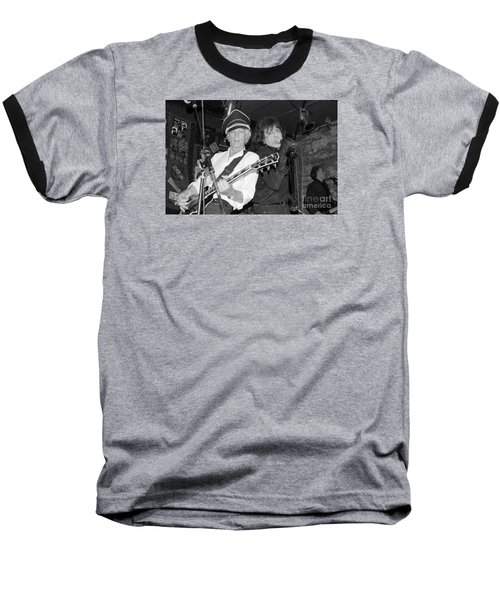 Baseball T-Shirt featuring the photograph Forever Rock N Roll Young by Steven Macanka