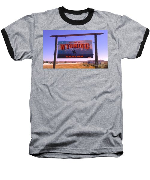 Baseball T-Shirt featuring the photograph Forever West by Chris Tarpening