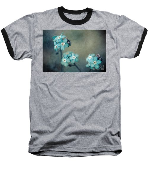 Forget Me Not 01 - S22dt06 Baseball T-Shirt by Variance Collections