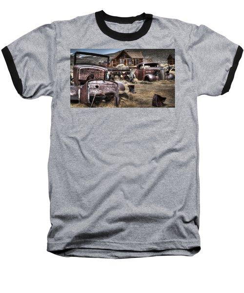 Forgoten Baseball T-Shirt by Eduard Moldoveanu