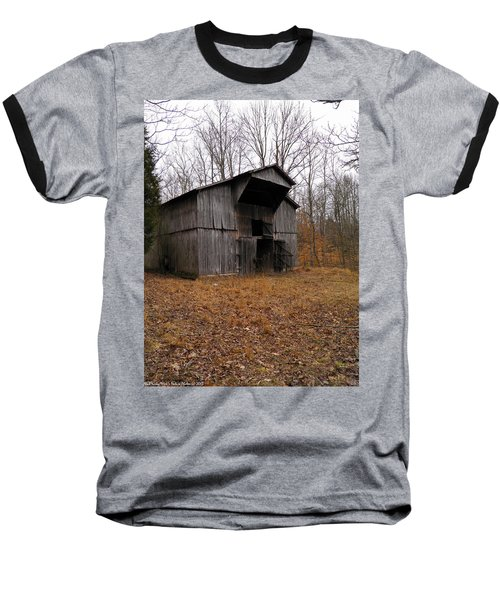 Baseball T-Shirt featuring the photograph Forgotten Barn by Nick Kirby