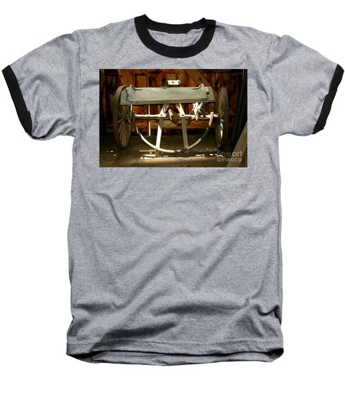 Baseball T-Shirt featuring the photograph Forgotten by Christiane Hellner-OBrien