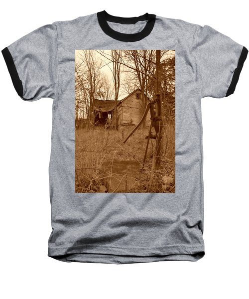 Forgotten Farmhouse Baseball T-Shirt