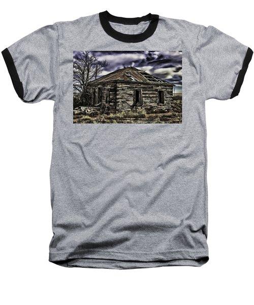 Baseball T-Shirt featuring the painting Forgotten by Muhie Kanawati