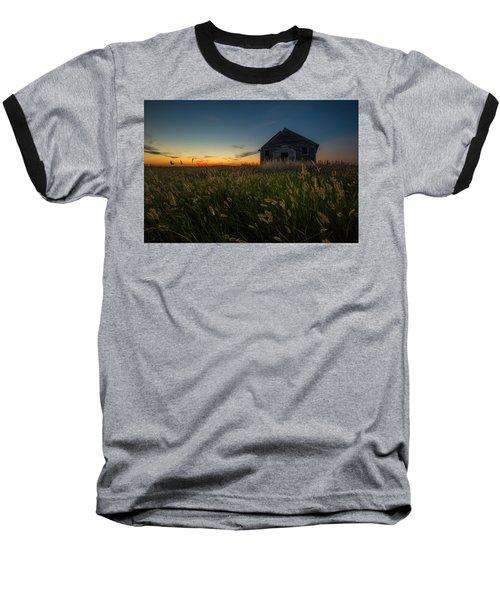 Forgotten On The Prairie Baseball T-Shirt