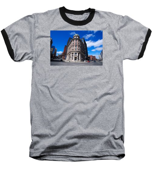 Baseball T-Shirt featuring the photograph Fork Albany N Y by John Schneider