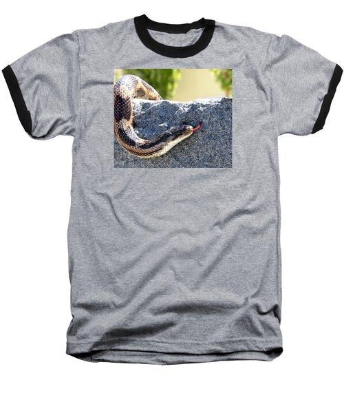 Forked Tongue Baseball T-Shirt