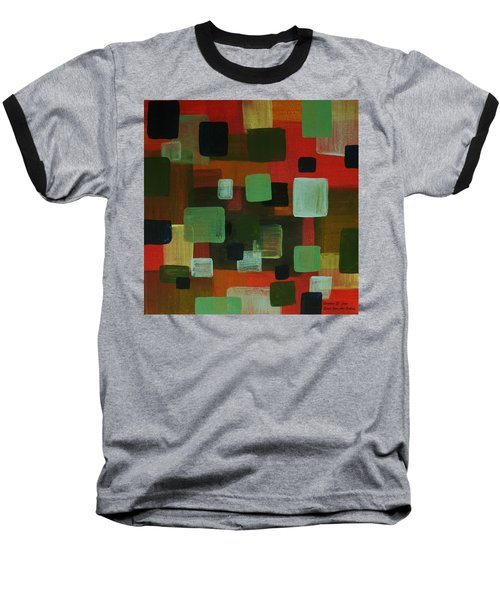 Baseball T-Shirt featuring the painting Forms by Barbara St Jean
