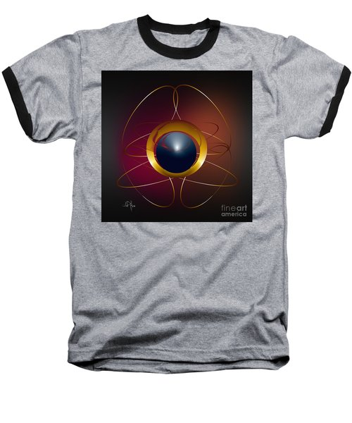 Forms Of Light Baseball T-Shirt by Leo Symon