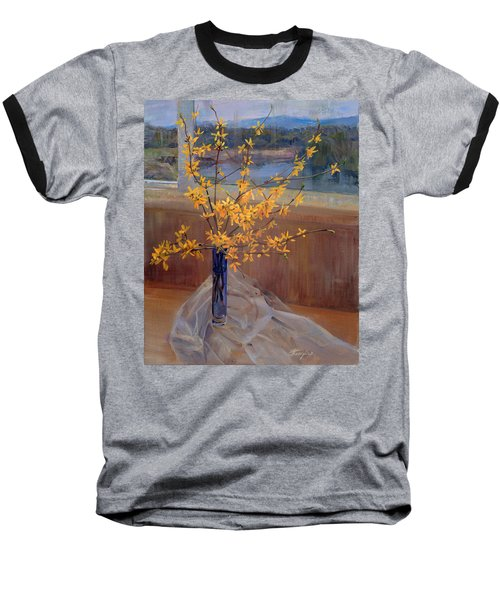 Forsythia Baseball T-Shirt
