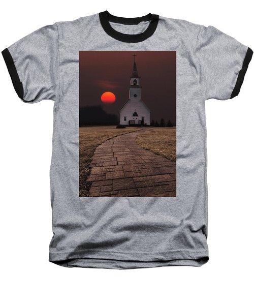 Fort Belmont Sunset Baseball T-Shirt