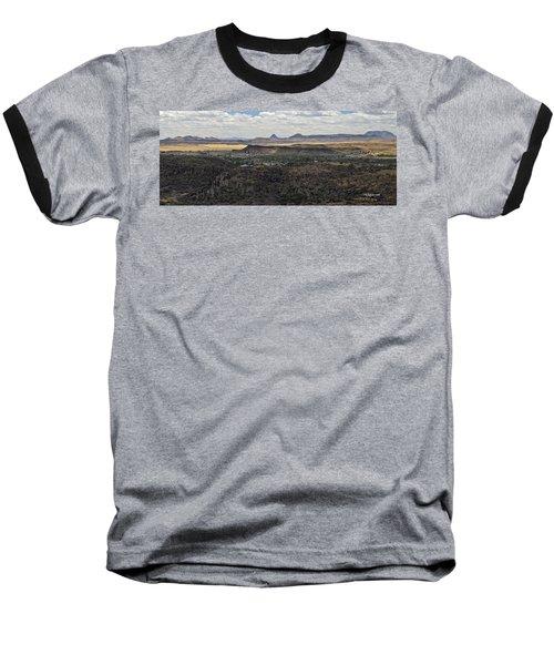 Fort Davis From Davis Mountains State Park Baseball T-Shirt