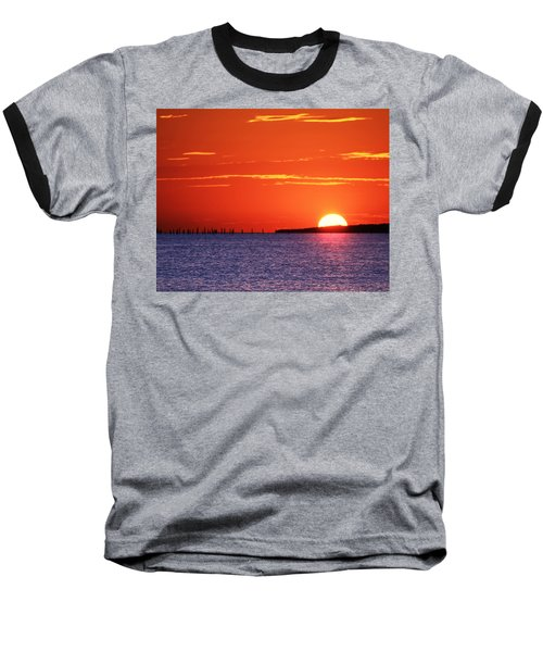 Fort Story Sunrise Baseball T-Shirt