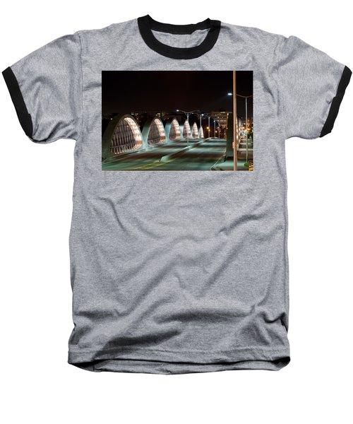 Fort Worth Seventh Street Bridge Oct 10 2014 Baseball T-Shirt