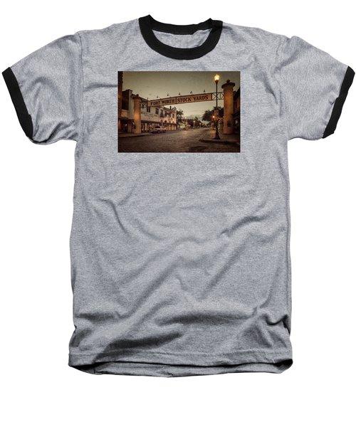 Fort Worth Stockyards Baseball T-Shirt