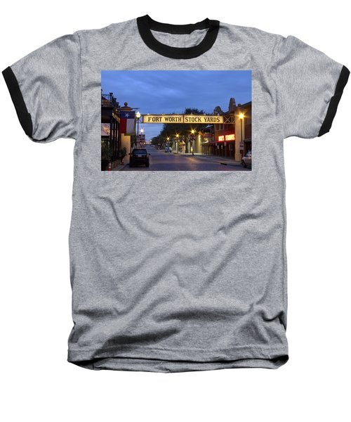Fort Worth Stockyards Baseball T-Shirt