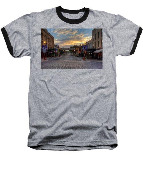 Fort Worth Stockyards Sunrise Baseball T-Shirt