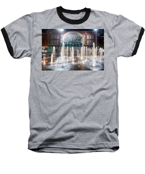 Fort Worth Sundance Square Aug 2014 Baseball T-Shirt