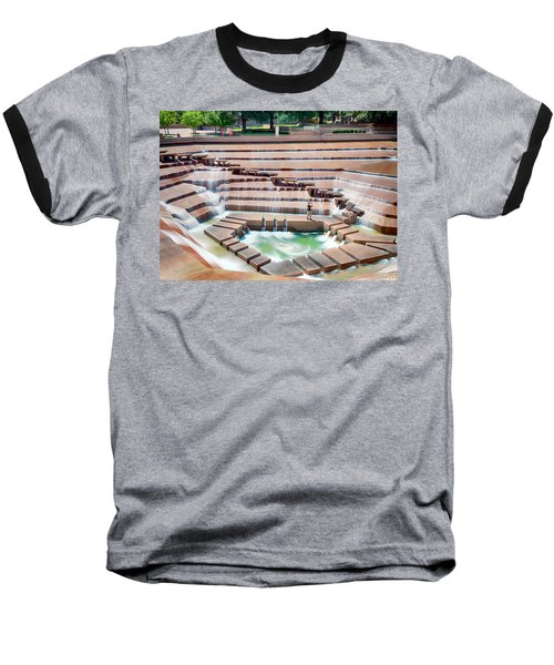Fort Worth Water Garden V7 Baseball T-Shirt