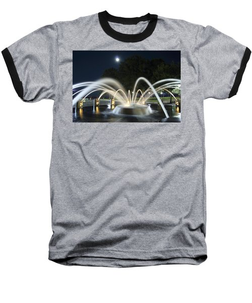 Fountain Charleston Waterfront Park Baseball T-Shirt
