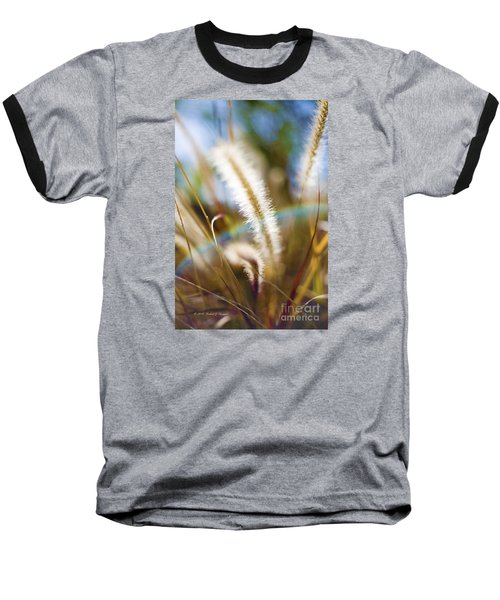 Fountain Grass Baseball T-Shirt