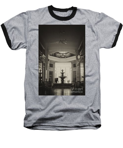 Fountain In The Light Baseball T-Shirt by Donna Greene