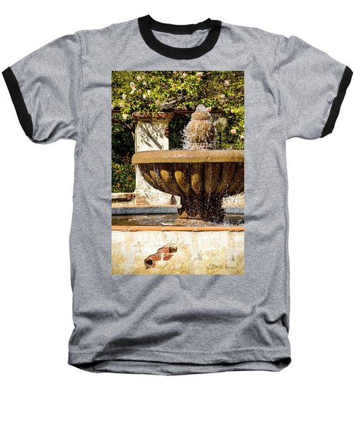 Baseball T-Shirt featuring the photograph Fountain Of Beauty by Peggy Hughes