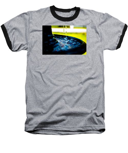 Baseball T-Shirt featuring the photograph Fountain Of Time by Mez