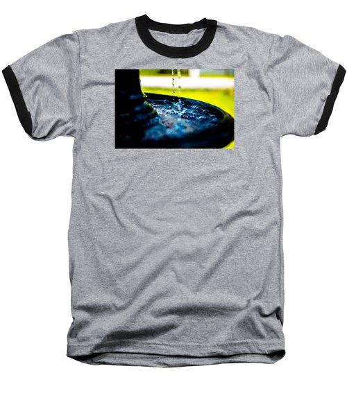 Fountain Of Time Baseball T-Shirt