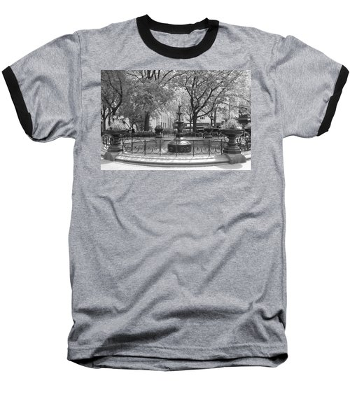 Fountain Time Baseball T-Shirt