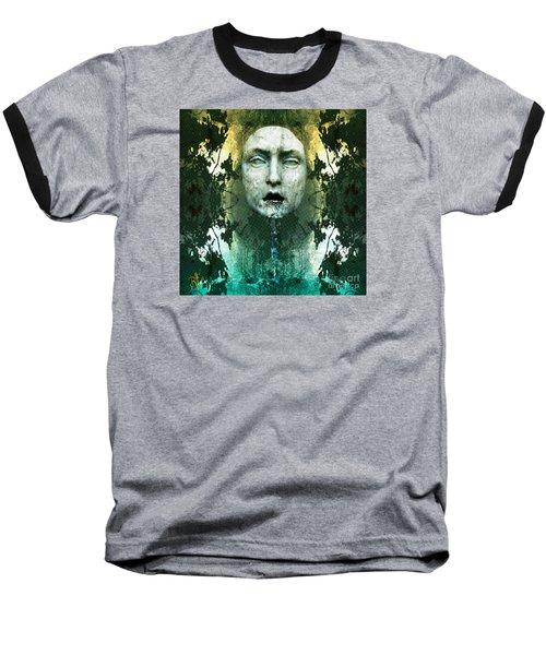 Fountainhead Dream Baseball T-Shirt by Rosa Cobos