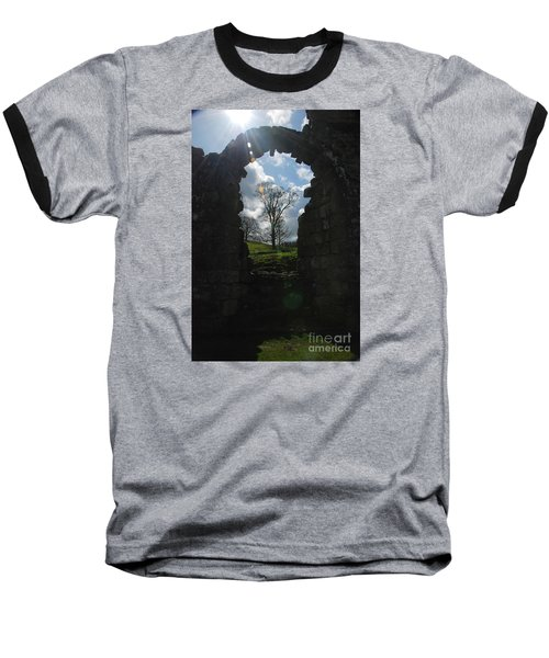 Fountains Abbey Baseball T-Shirt