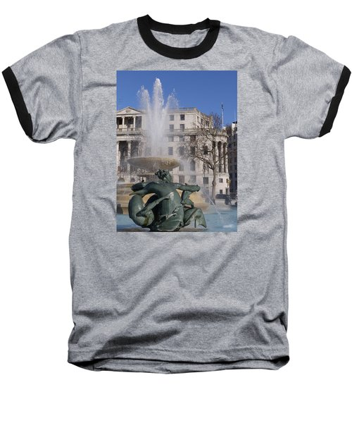 Fountains In Trafalgar Square Baseball T-Shirt