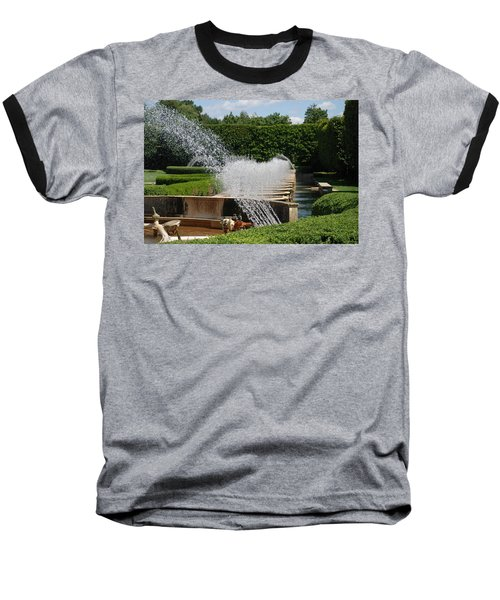 Baseball T-Shirt featuring the photograph Fountains by Jennifer Ancker