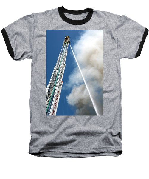 Four Alarm Blaze 001 Baseball T-Shirt