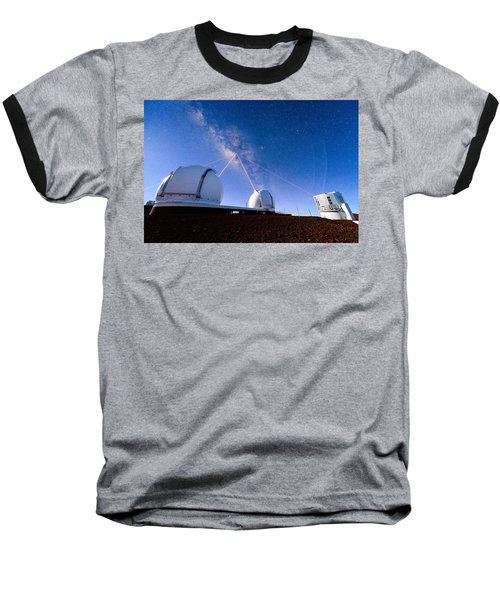 Four Lasers Attacking The Galactic Center Baseball T-Shirt