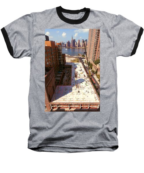 Fourth Floor Slab Baseball T-Shirt