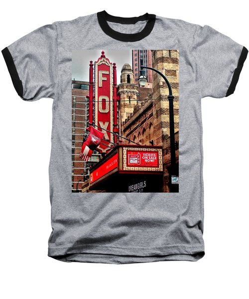 Fox Theater - Atlanta Baseball T-Shirt